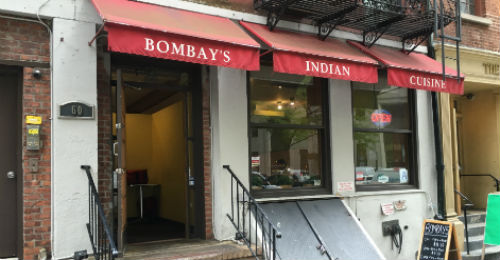 Bombay's Indian Restaurant Locations